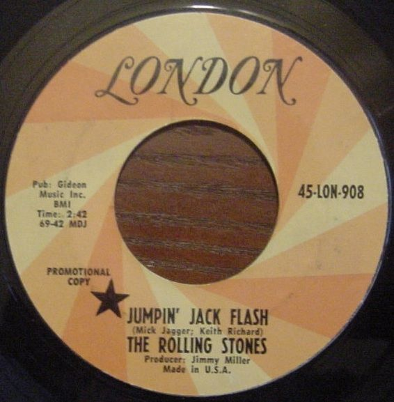 The Rolling Stones - Jumpin Jack Flash - 1968