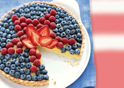 4th of July pieDesserts, Fruit Pizza, 4Thofjuly, Fourth Of July, Food, Custards Tarts, 4Th Of July, July 4Th, Fruit Tarts