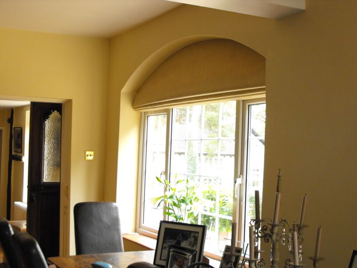 Roman Blind For An Arched Window Curtains Pinterest