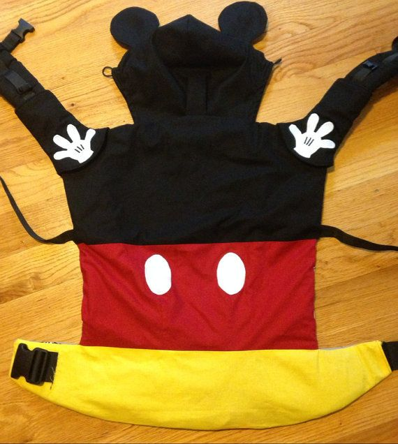 Mickey Mouse Disney Tula slipcover by MichMonsterClothing on Etsy