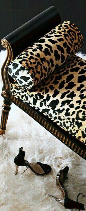 Leopard- always glam chic