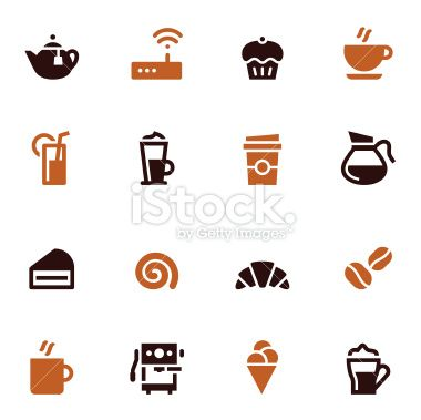 Cafe Icons - Color Series