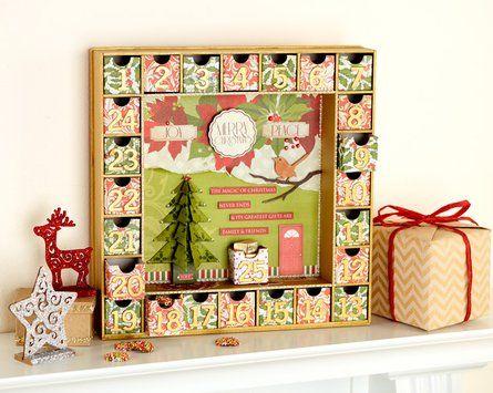 christmas carol advent calendar project spotlight. Black Bedroom Furniture Sets. Home Design Ideas