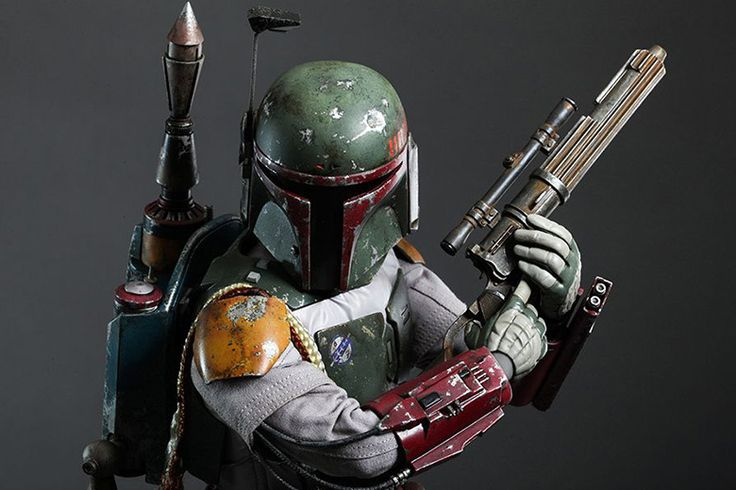 """Picture of Hot Toys Star Wars: Episode VI Return of the Jedi """"Boba Fett"""" 1/4th Scale Collectible Figure"""