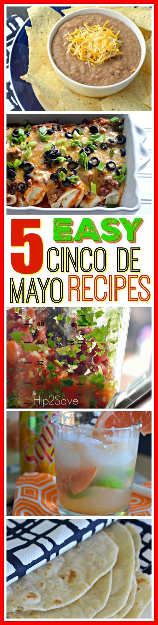 If you're looking to create a Cinco de Mayo Menu, check out these delicious and easy recipes!
