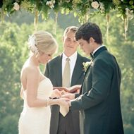 Wedding Ceremony: The order of events. Whether your service is civil or religious, it will likely follow the same general outline. #weddingplanning