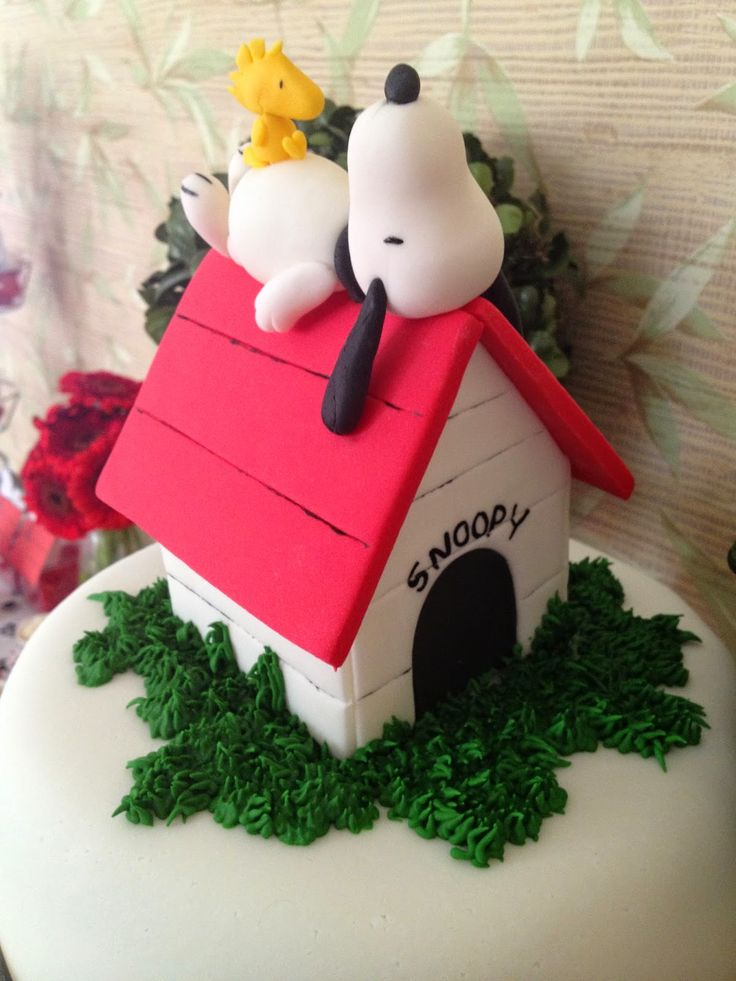 I Love Valentina: Festa Snoopy para Carol - Snoopy Party - Peanuts Party