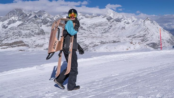 Sporty Performance Snow Sleds - The Aroc Snowsports 'Sports Sled' Comes in Three Models (GALLERY)
