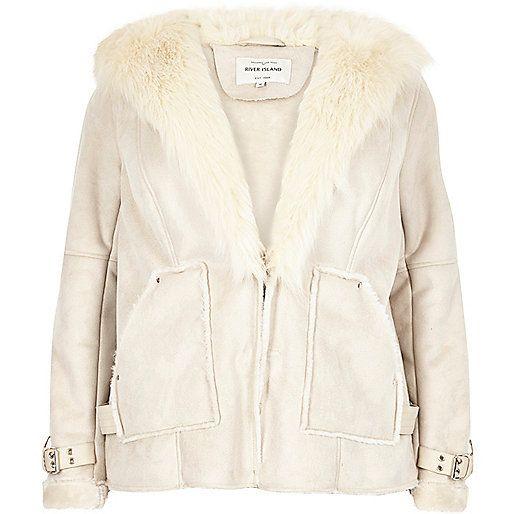 RI Plus cream shearling jacket - jackets - coats / jackets - women