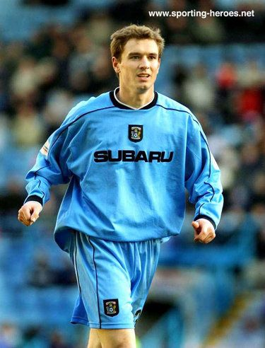 Colin Healy - Coventry City - League Appearances