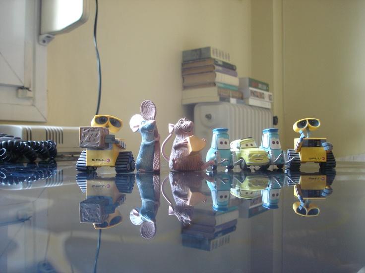 Pixar heros living with me