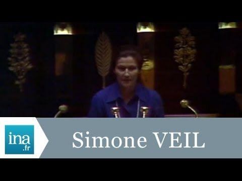 Simone Veil présente la loi sur l'avortement à l'Assemblée Nationale le 26 novembre 1976