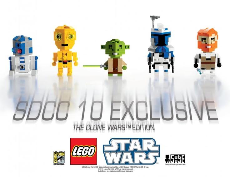 Lego Star Wars Cubedude   Lego   Pinterest   Lego star wars, Lego ...