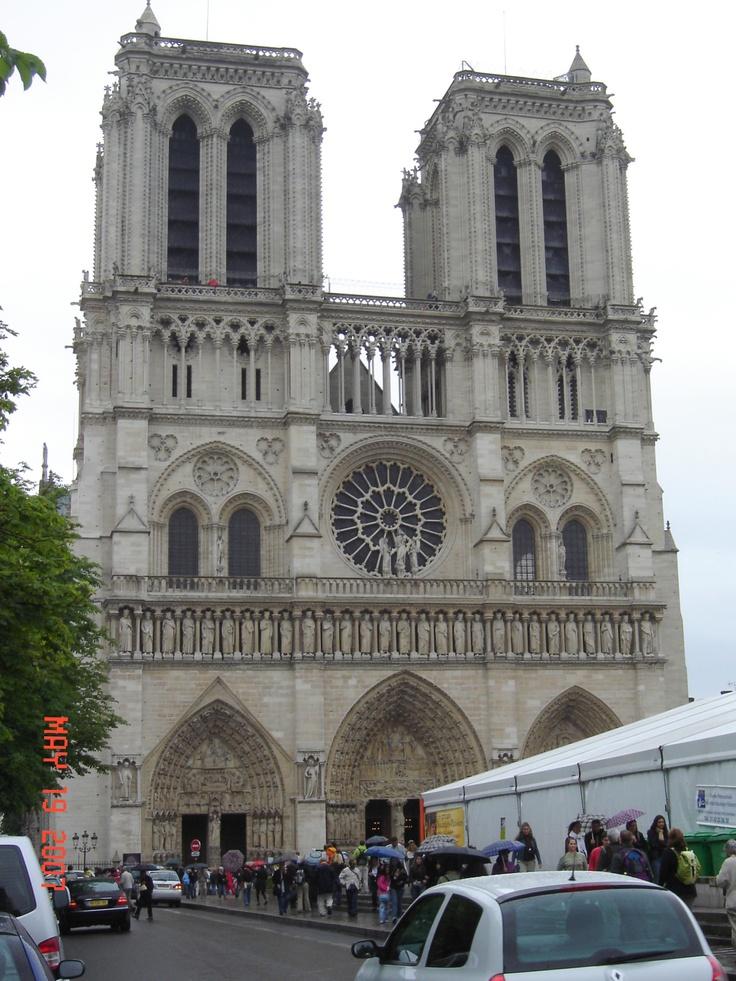 Notre Dame, Paris        #churches #Paris