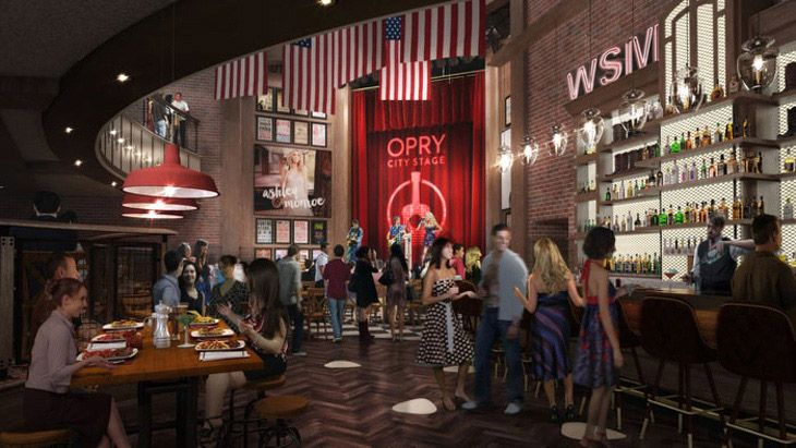 Opry City Stage, a new satellite venue of the famous Nashville-based Grand Ole Opry is opening in Times Square, New York City