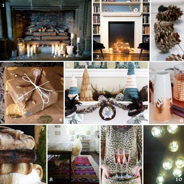 Home for the #Holidays: Fireplace Mood Board (http://blog.hgtv.com/design/2013/11/07/home-for-the-holidays-fireplace-mood-board/?soc=pinterest): Mantels, Mood Board, Beautiful Moodboards, Christmastime
