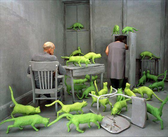 Radioactive Cats, Sandy Skoglund