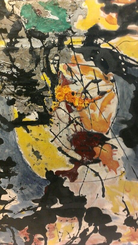 """Number 12"" Jackson Pollock (1952)"