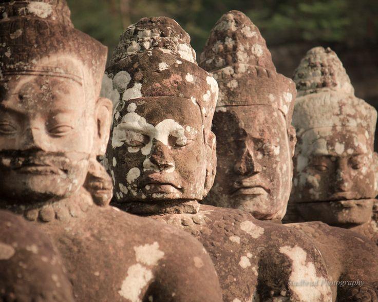 The Protectors of Angkor Wat in Cambodia by Nadbrad Photography at www.nadbrad.com