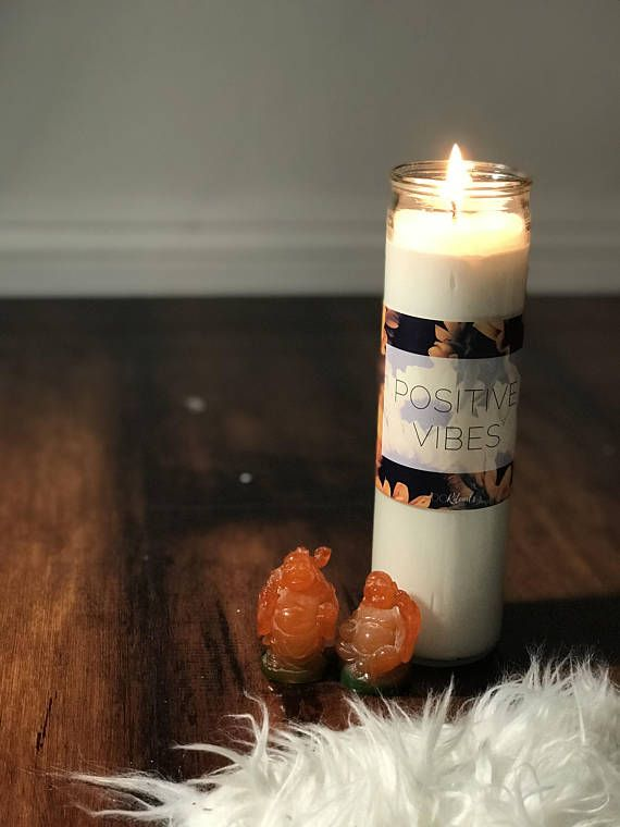 Intention Setting / 7 Day / Candle / Positive Vibes | Spirit