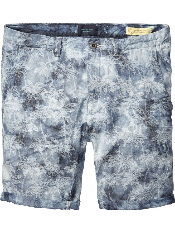 Indigo Chino Shorts |Short pants|Men Clothing at Scotch & Soda