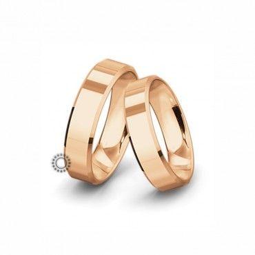 Βέρες γάμου Saint Maurice Classic ροζ χρυσός πλάτους 6.0mm επίπεδες εξωτερικά & ανατομικές   Γαμήλιες βέρες Saint Maurice ΤΣΑΛΔΑΡΗΣ στο Χαλάνδρι #SaintMaurice #βερες #γαμου #χρυσος #rings