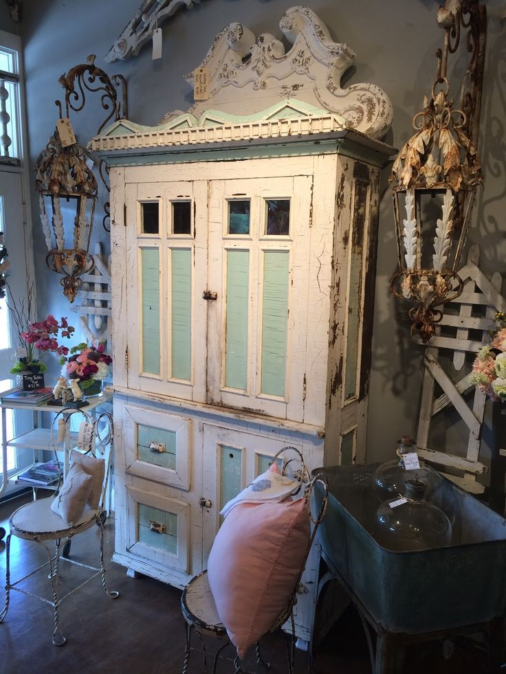 Antique one of a kind cabinet! What an amazingly unique piece! Ballard &  Blakely. Lovers LaneTuesdayAntique FurnitureDallas ... - 52 Best Antique Furniture Images On Pinterest Antique Furniture