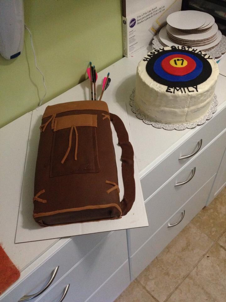 17 Best Images About Archery Cakes And Ideas On Pinterest