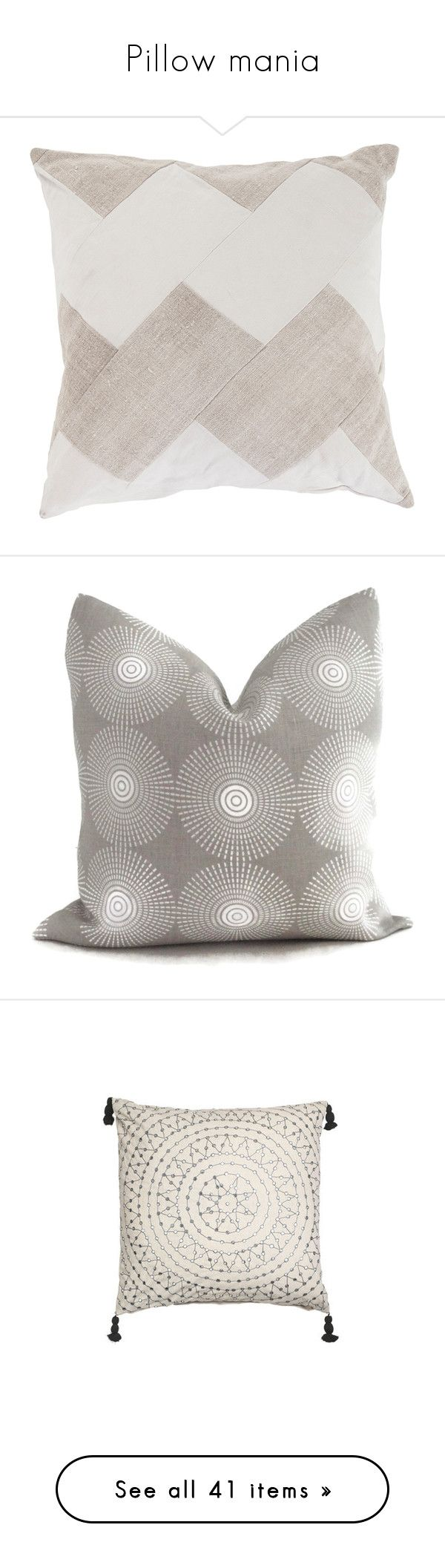Shop home decor chevron stripes pillow from shop home decor -  Pillow Mania By Anna Lena Als Liked On Polyvore Featuring Home Home Decor Throw Pillows Pillow Cushions Chevron Home Decor Neutral Home Decor