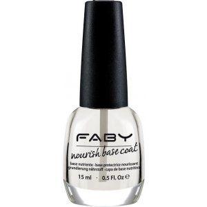 Fabyline - Base Coat Base coat ad azione riempitiva specifico per unghie dalla superficie irregolare, con particelle minerali, vitamine E e C. Base ideale per unghie perfette e per uno smalto a lunga durata.