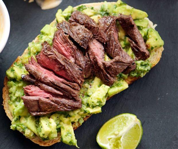 Steak & Avocado Pizza (Pic: SeriousEats.com)