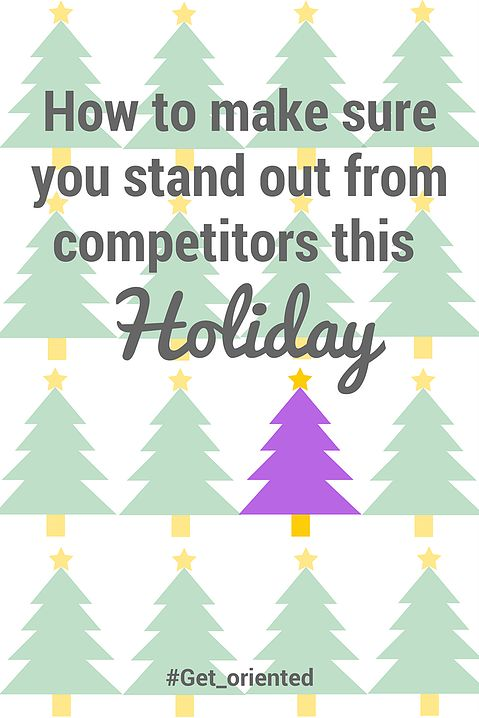 """Part 1 of a Christmas-focused 3 part blog series: """"Ho to make sure you stand out from competitors this Holiday"""". Read this blog post to: - Find out why it's essential to stand out this Christmas - Take away key tactics you should employ this Holiday to differentiate your products/services - See real life examples of what has worked well in the past to gain inspiration for Xmas 2016!"""