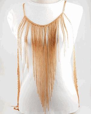 Body Jewelry - Body #Chain - Chainful #BodyChain $29.99: Bodychain 29 99, 40 00 Places, Chains Bodychain, Body Jewelry, Bodychain 2999, Metals Body, 4000 Places, Body Chains, Chains 40 00