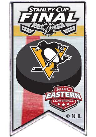 Pitt Penguins 2017 Stanley Cup Finals Pin