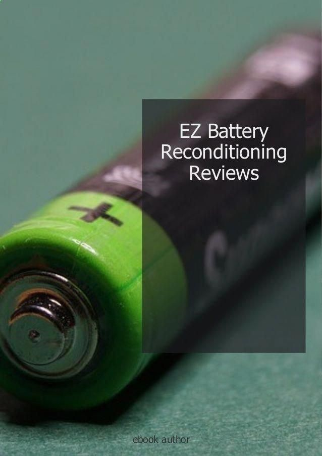 Bring Old Batteries Back To Life Again Ezbatteryrecondit Ez Battery Reconditioning Reviews Bring Old Batteries Back To Battery Batteries Diy Ryobi Battery