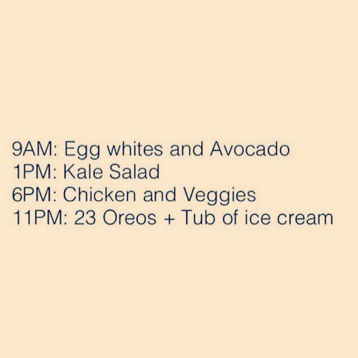 Anyone else like this? 😂 #diet #oreos #icecream #paleobenefits