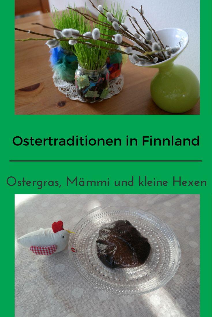 Zu Ostern gibt es in Finnland einige Traditionen, es wird Mämmi gegessen, Ostergras gepflanzt und Hexen gehen umher. Erfahre mehr darüber!