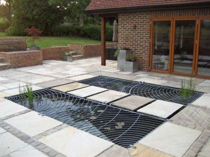 17 best images about landscaping rills ponds on for Fish pond protection