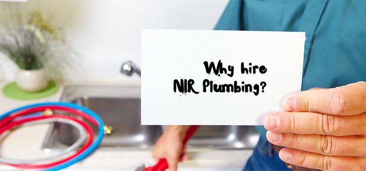 NIR Plumbing is about fighting for a healthy happy home, your healthy happy home— that's our mission as plumbers.