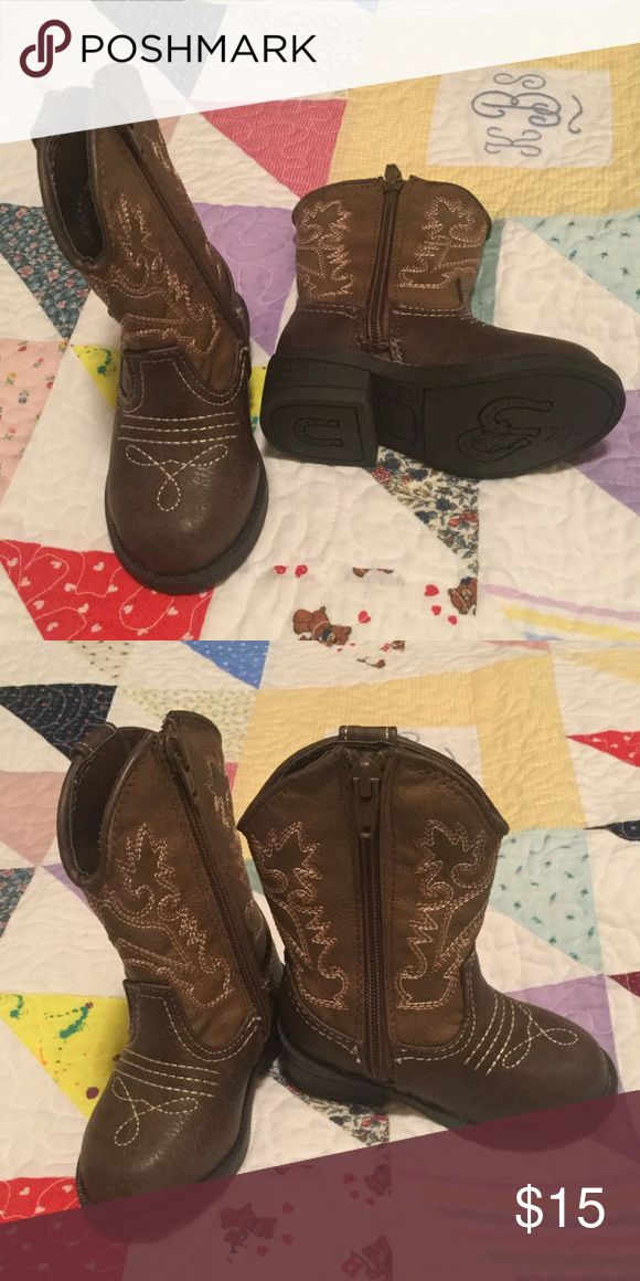 Size 5 cowboy boots So cute.  Never worn, Cherokee Brand Cherokee Shoes Boots