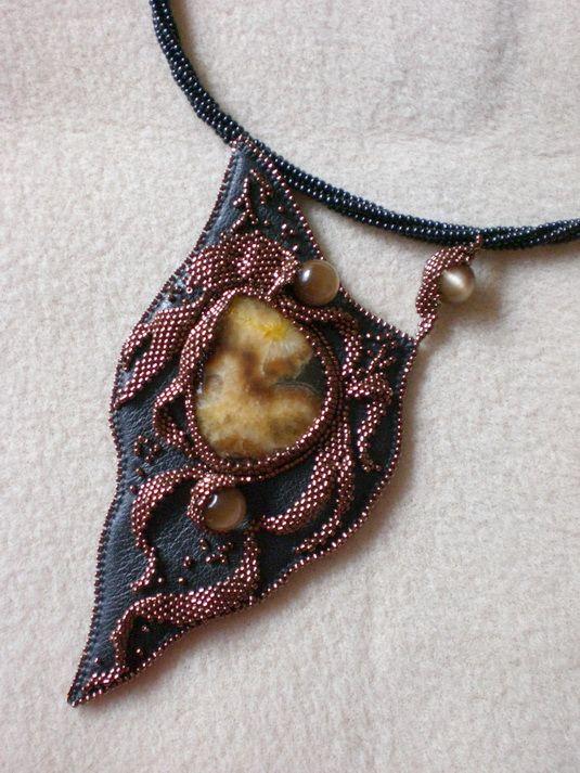 Beautiful beading jewelry by Ludmila Gubinova | Beads Magic