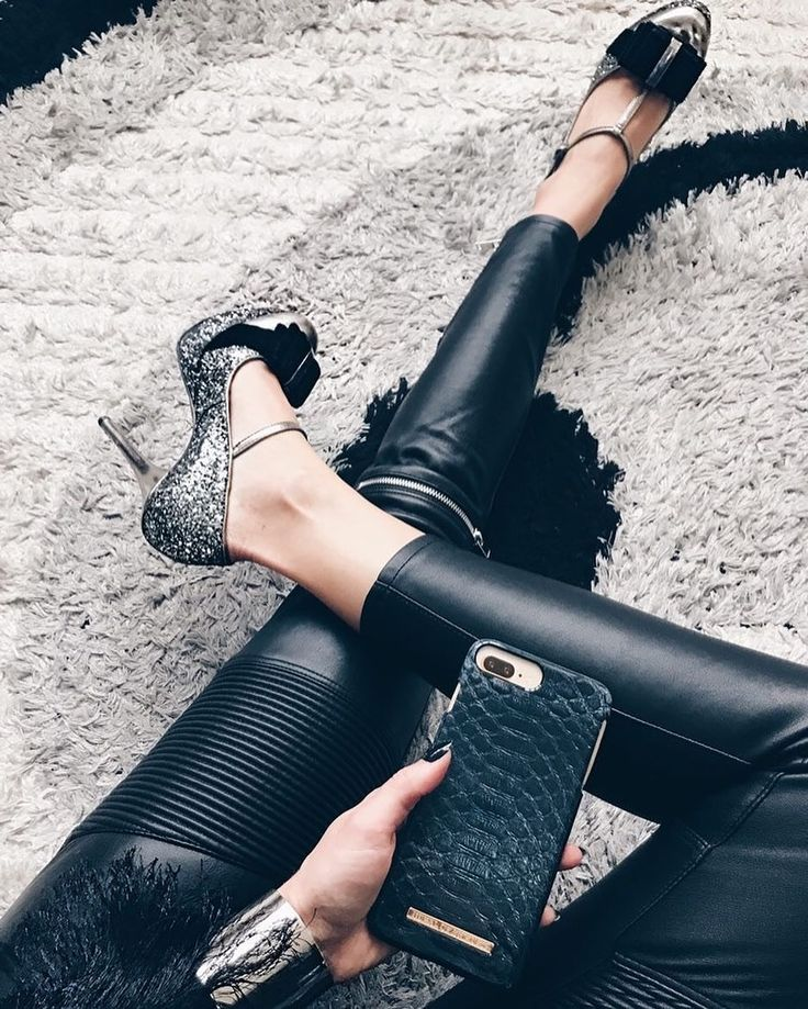 Black Reptile by @ohmyglam #fashion #style #reptile #ootd #shopping