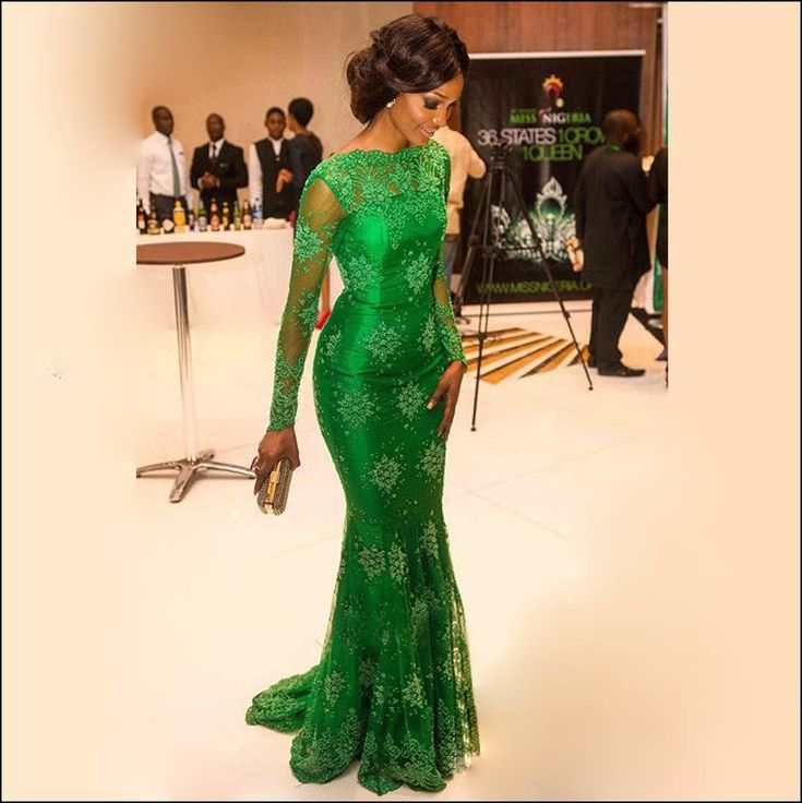 Nigerian Lace Dress Designs