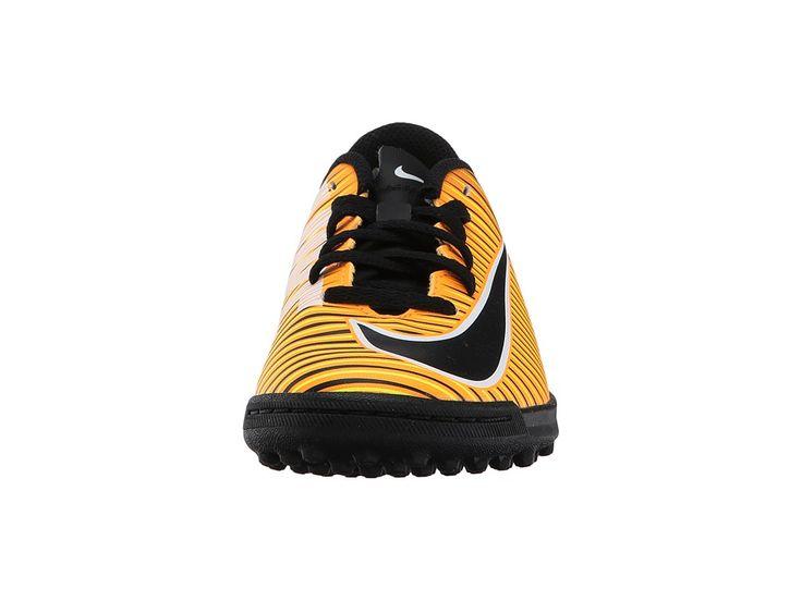 Nike Kids Mercurial Vortex III TF Soccer (Little Kid/Big Kid) Kids Shoes Laser Orange/Black/White/Volt