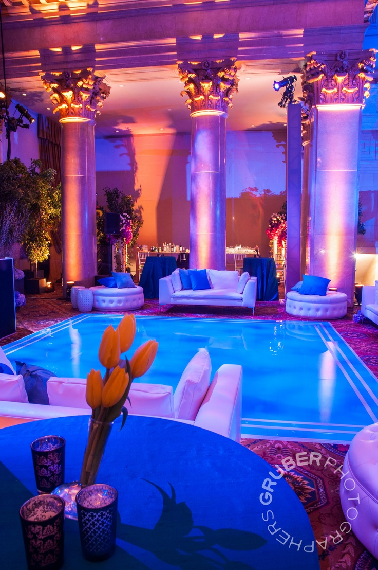 After Party Seating Area At Cipriani Wall Street Photos By Gruberphotographers