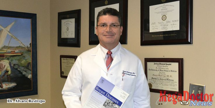 Álvaro Restrepo, M.D., an oncologist and hematologist physician, with more than twenty years in the field, says the cure for some cancers is already happening.