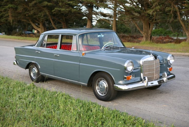 1965 Mercedes-Benz 190C   – memorable cars of the 50s,60s from europe