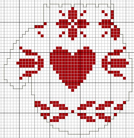 Cross Stitch Pattern *<3*- Mittens