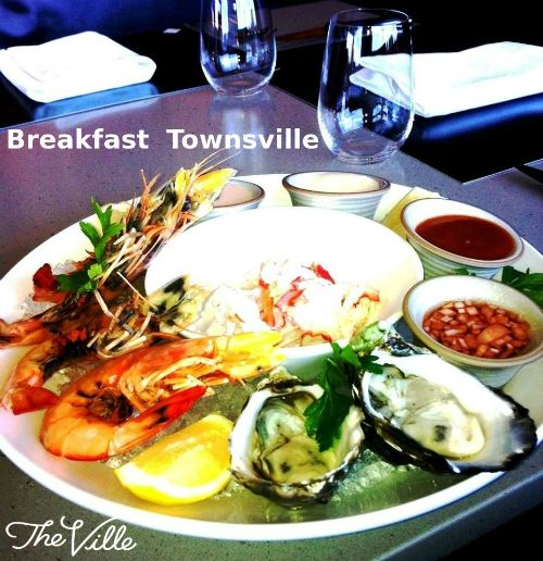 Breakfast Townsville - Dine at the perfect setting at The Ville aqua restaurant. Aqua Restaurant serves seafood cuisine for seafood lovers including special dishes like fresh seafood, soups, hearty roast meats. For more information visit : http://www.the-ville.com.au/dine/aqua/