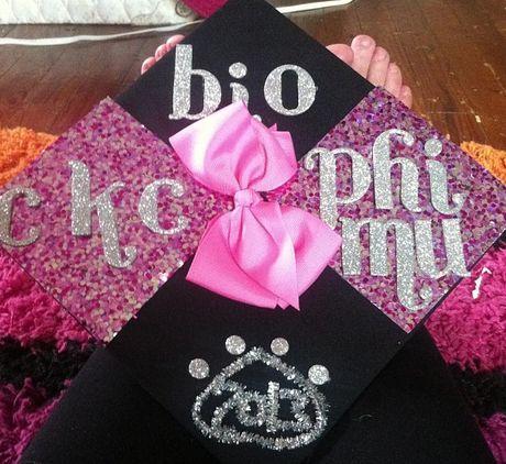 Sorority Graduation Cap #sororitysugar
